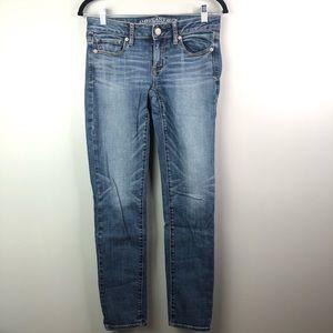 AEO women's super skinny stretch Sz 4 jeans
